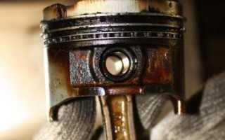 Последствия залегания поршневых колец маслосъемные кольца признаки износа