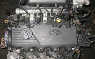 Хендай акцент характеристики двигателей 12 клапанов