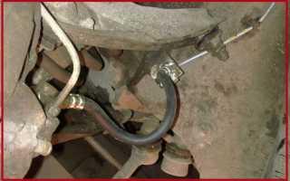 Замена передних тормозных шлангов ваз 2107