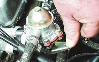 Устройство и работа бензонасоса карбюраторного двигателя