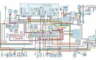 Схема электрическая принципиальная автомобиля ГАЗ-31105