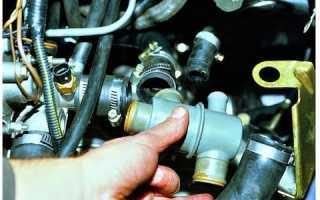 Греется двигатель радиатор с низу холодный