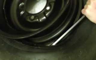 Как разбортировать колесо своими руками Видеоинструкция ЗР