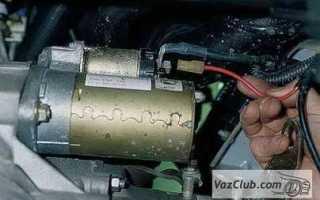 Что делать если на ВАЗ-2110 стартер щелкает но не крутит вал