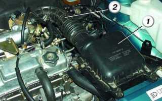 Замена воздушного фильтра на ВАЗ 2110 своими руками