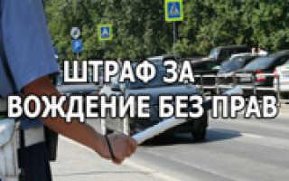 Что ждет водителей которые ездят без прав