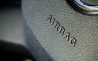 Что делать если загорелась лампочка системы airbag