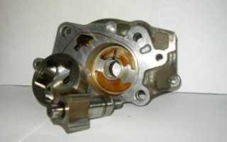 Редукционный двигатель масляного насоса устройство и ремонт неисправностей