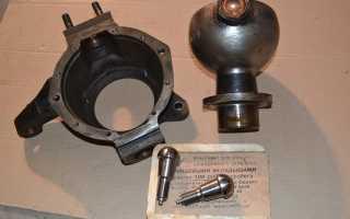 Конструкция поворотного кулака уаз