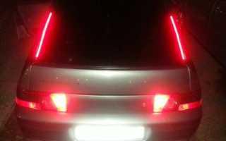 Автомобили LADA ВАЗ Замена выключателя стоп-сигнала