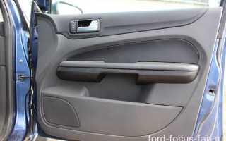 Как снять обшивку водительской двери Форд фокус 2