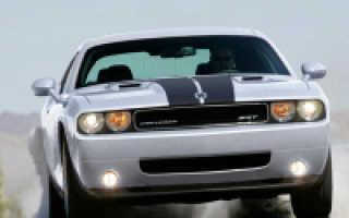 Dodge challenger какой в нем двигатель