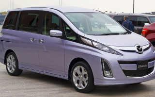Технические характеристики Mazda Biante
