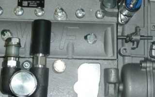 Как установить зажигание на двигателе мтз