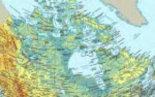 Карта канады Карта канады на русском языке Карта дорог канады