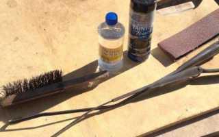 Восстановление бескаркасных дворников